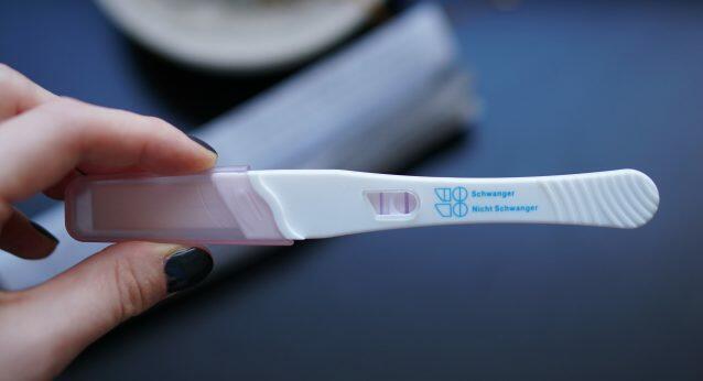 Plötzlich schwanger, positiver Schwangerschaftstest