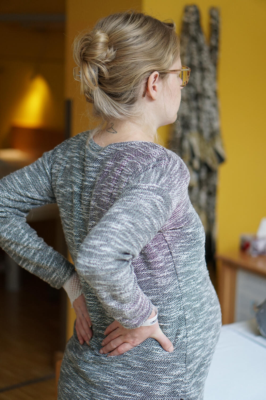 Rückenschmerzen durch Wehen