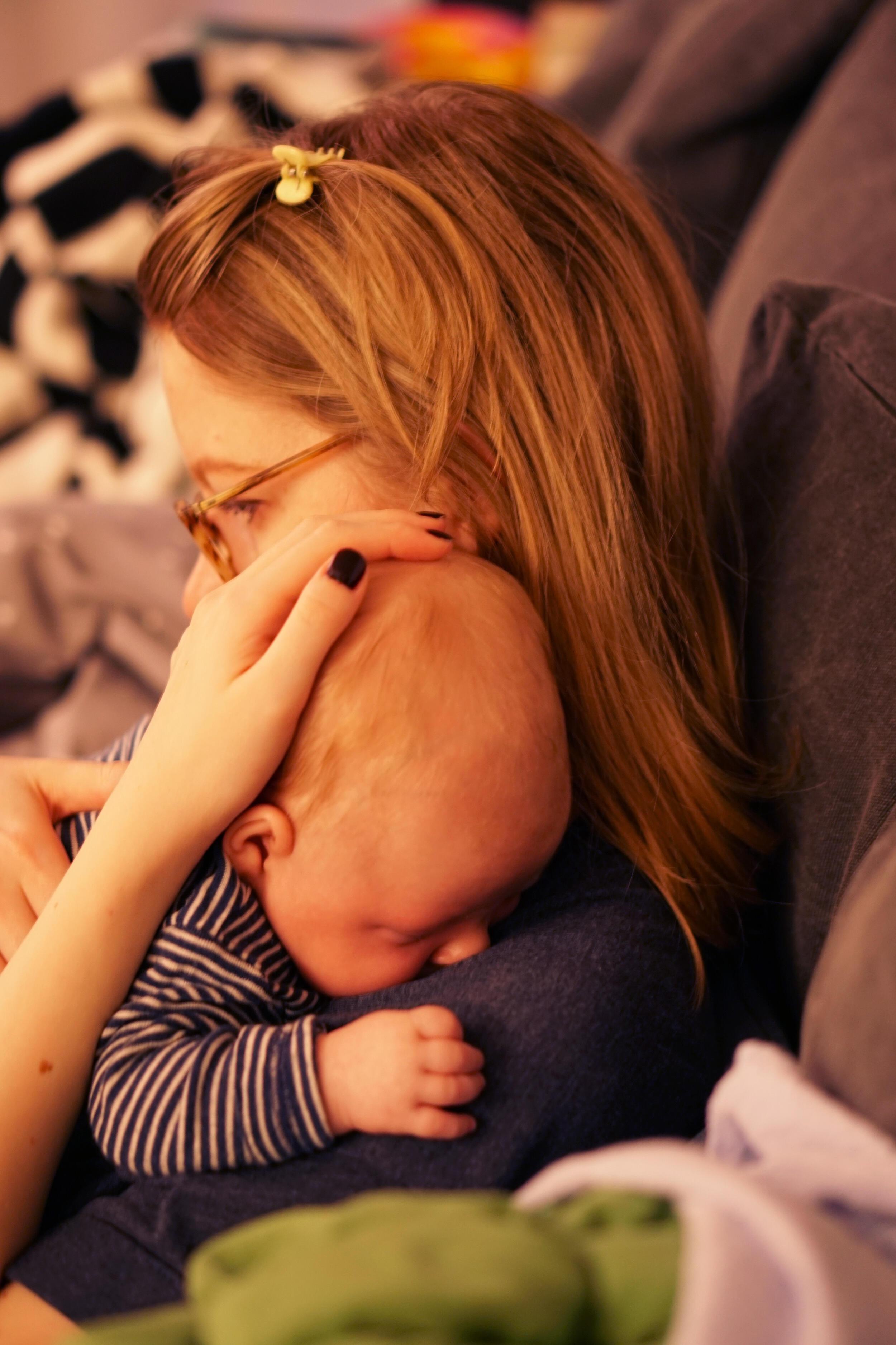 Baby trösten
