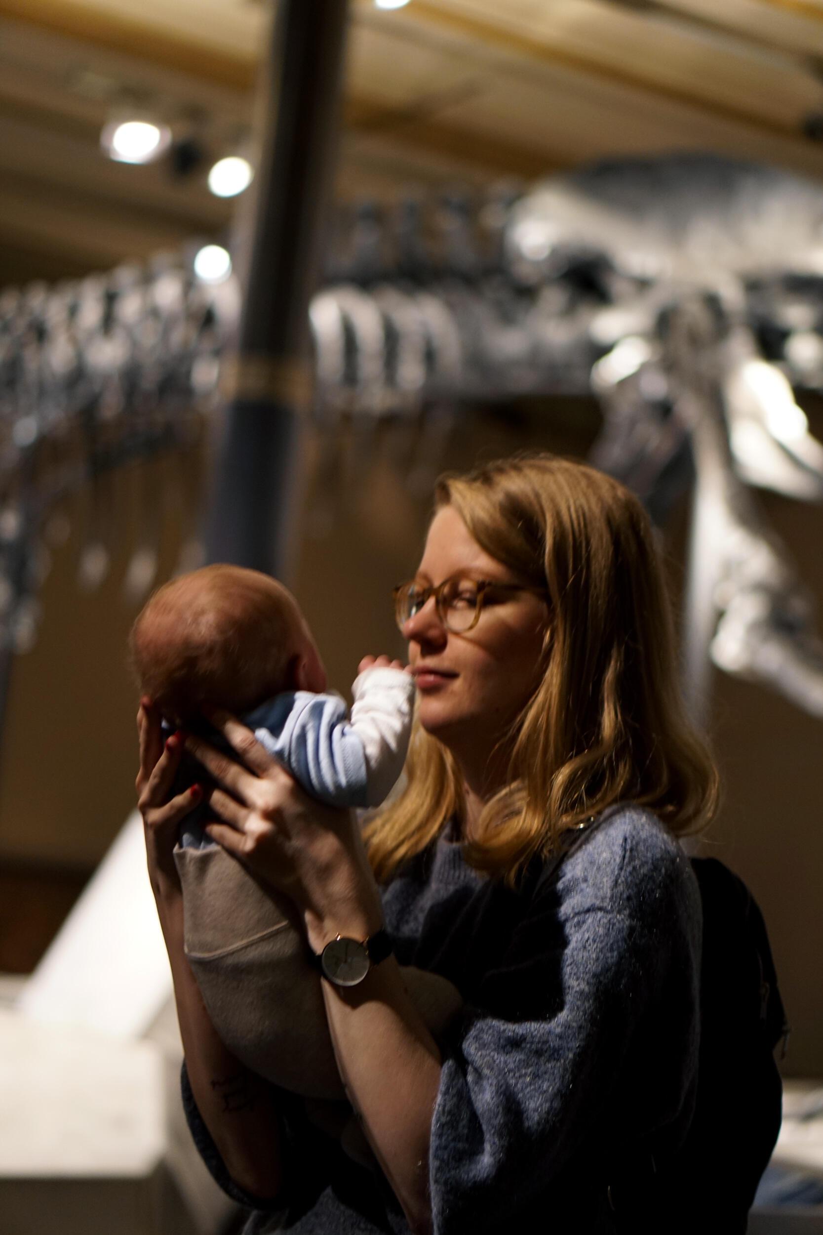 Mit Baby im Naturkundemuseum