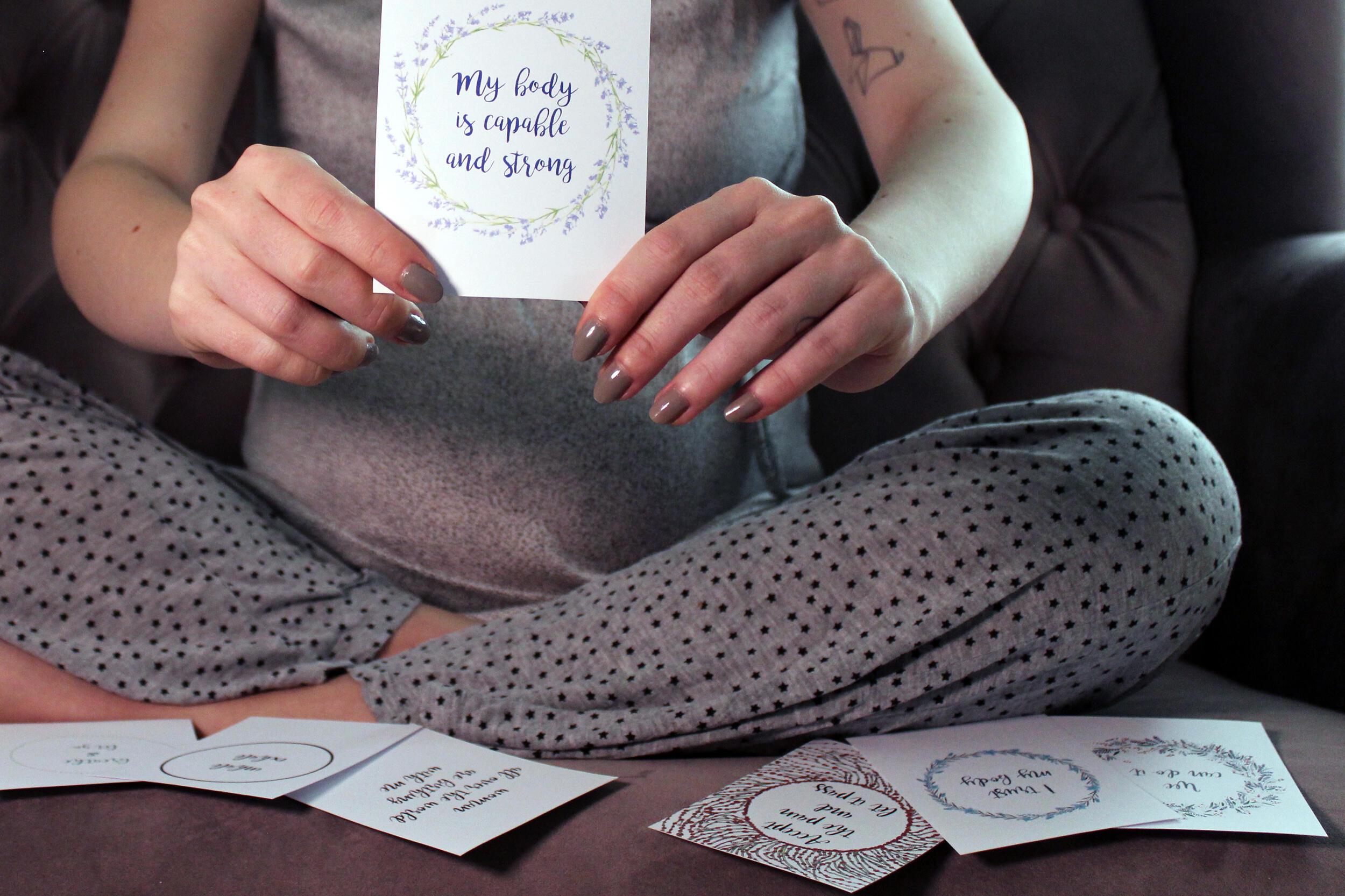 Geburtsvorbereitung Mantras