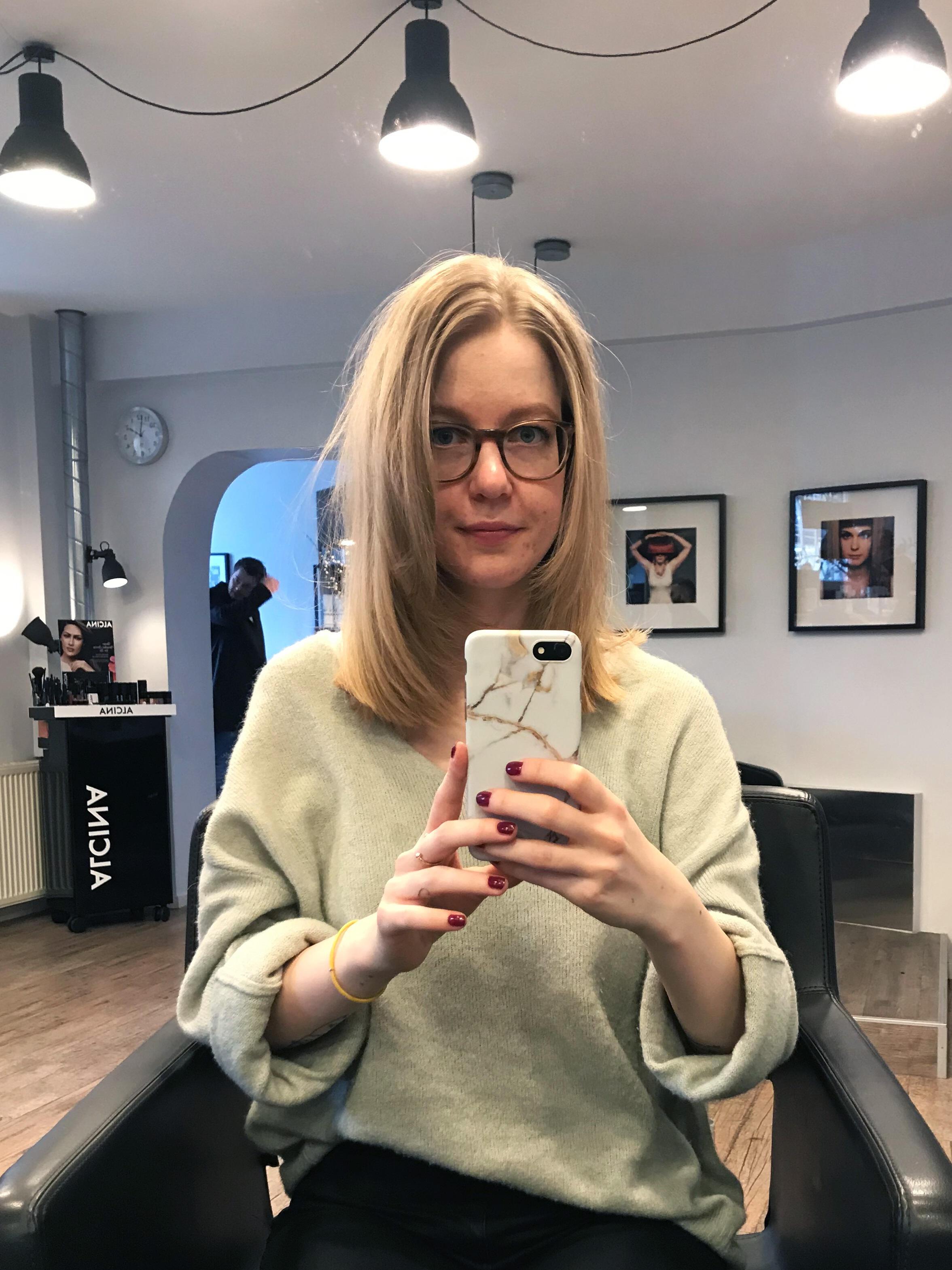 Friseurbesuch