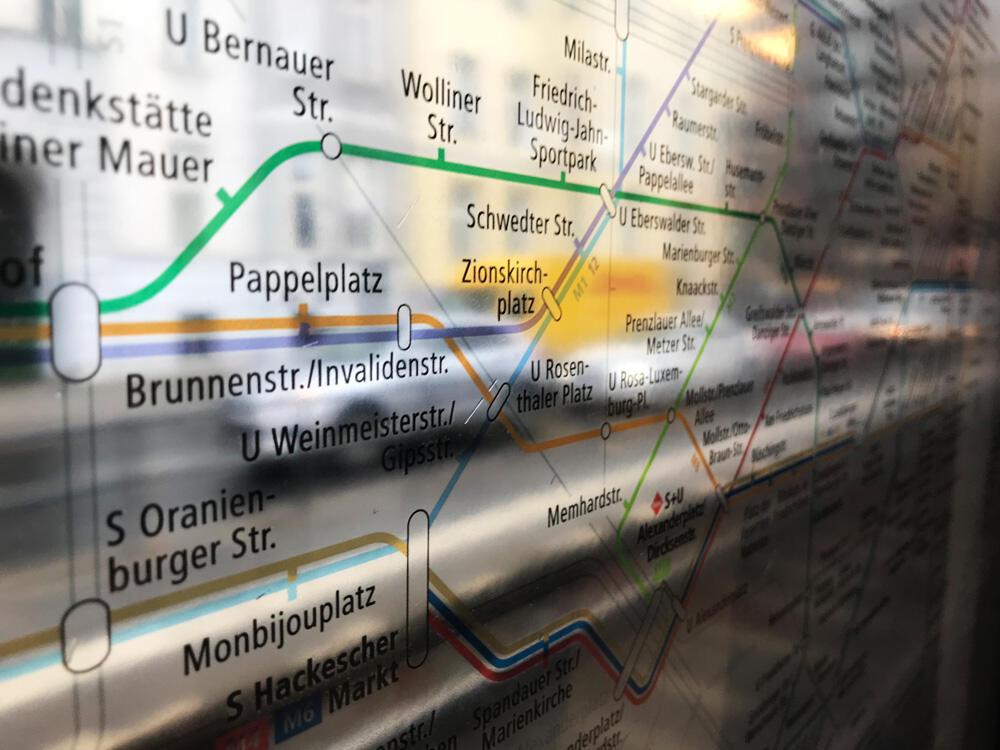 Straßenbahn Streckennetz