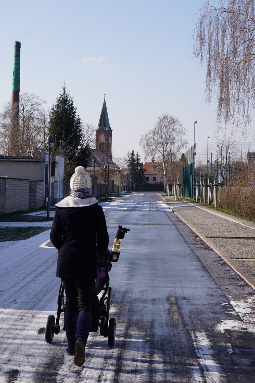 Werder an der Havel spazieren gehen