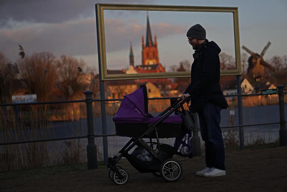 Urlaub in Werder an der Havel Kinderwagen