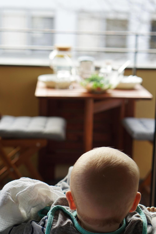 Baby Balkon Hochstuhl