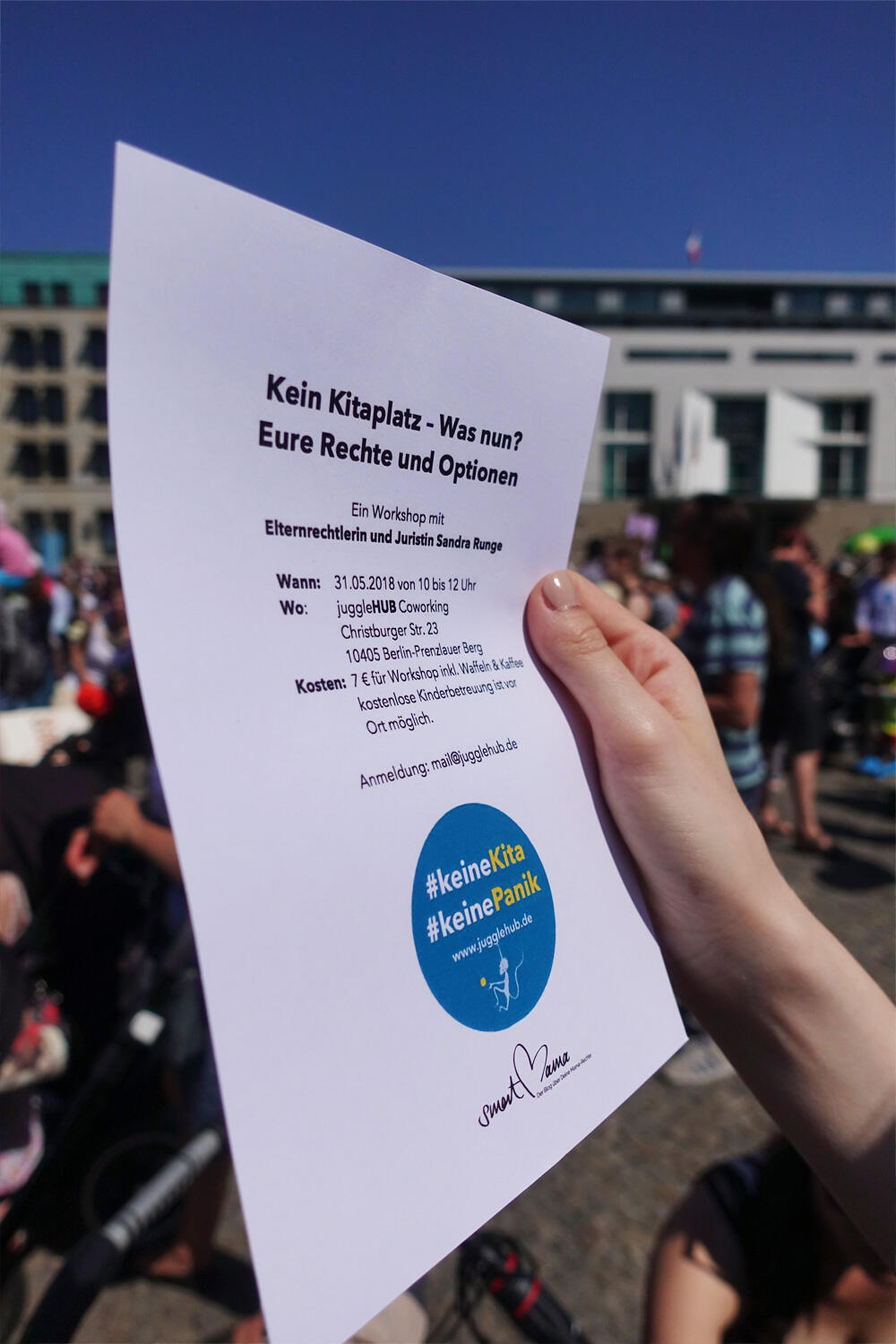 Demo Kita Krise Berlin