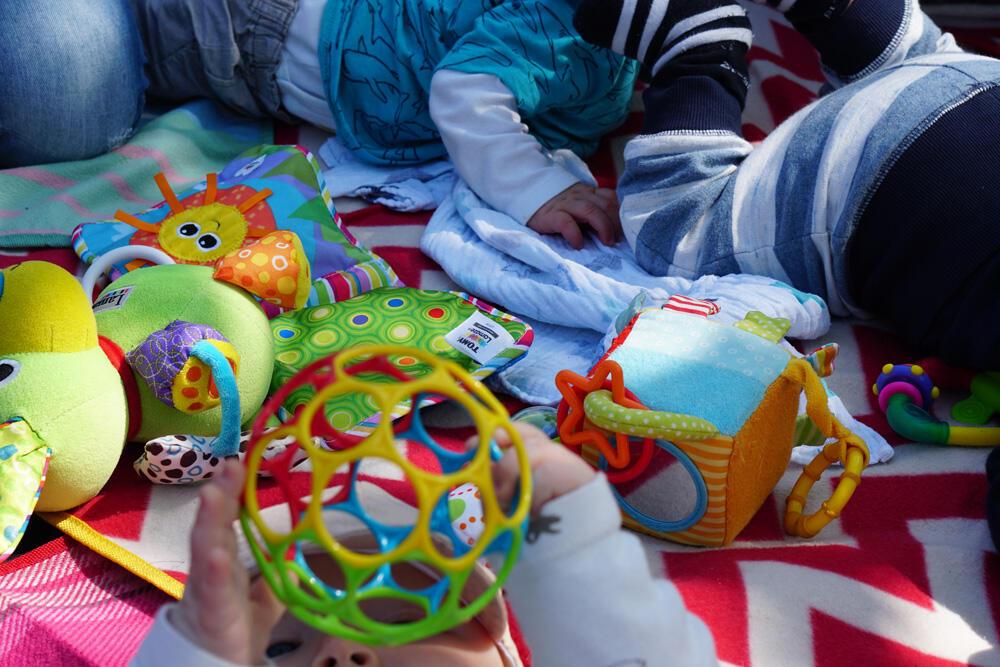 Baby Park Playdate Spieldecke Oball