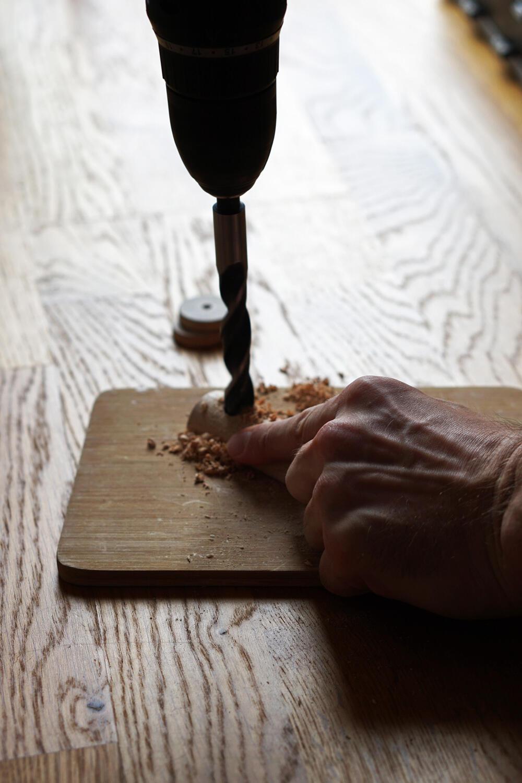 Bohrer Bohren Holz DIY