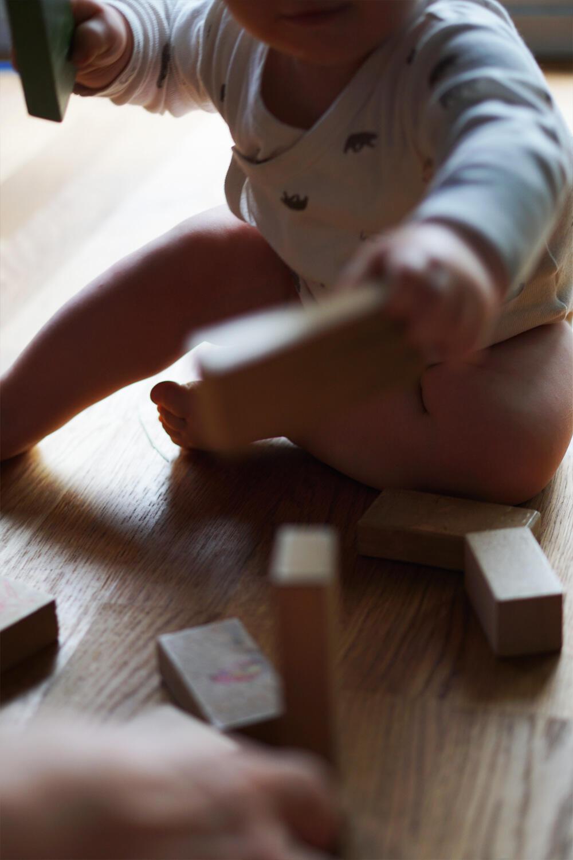 Baby Bausteine Holzbausteine