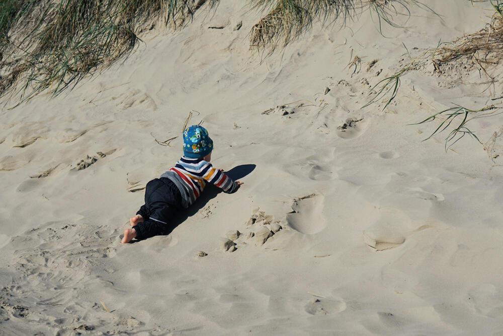 Dünen Dänemark Strand Baby