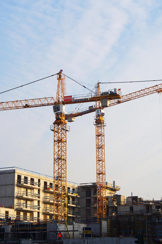 Baustelle Kran Berlin