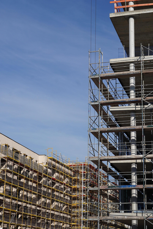Berlin Baustelle Kita-Eingewöhnung