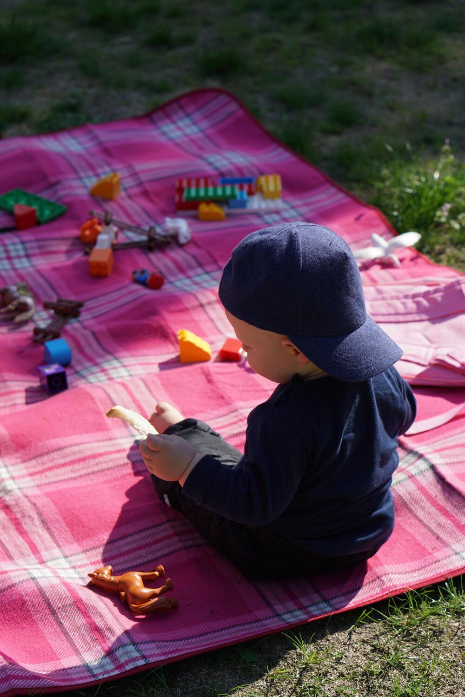 Baby Picknick Picknickdecke Park