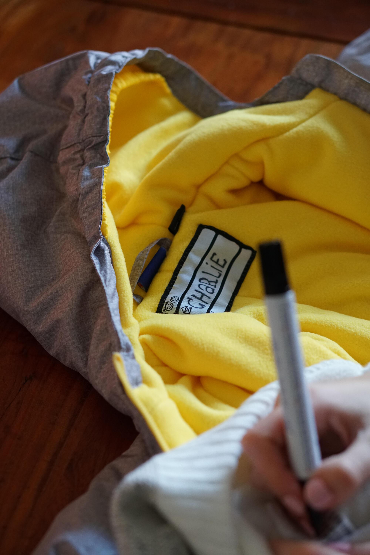 Kita Sachen Beschriften Kinderkleidung Kindergarten