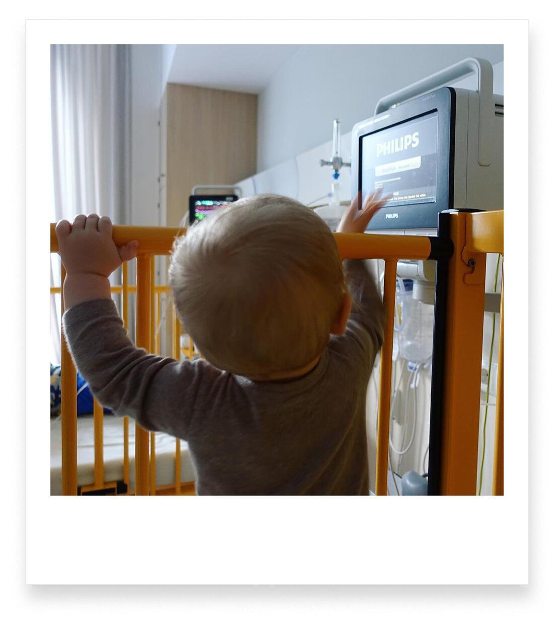 Jahresrückblick 2018 Familie mit Baby Berlin Krankenhaus Friedrichshain Fieberkrampf