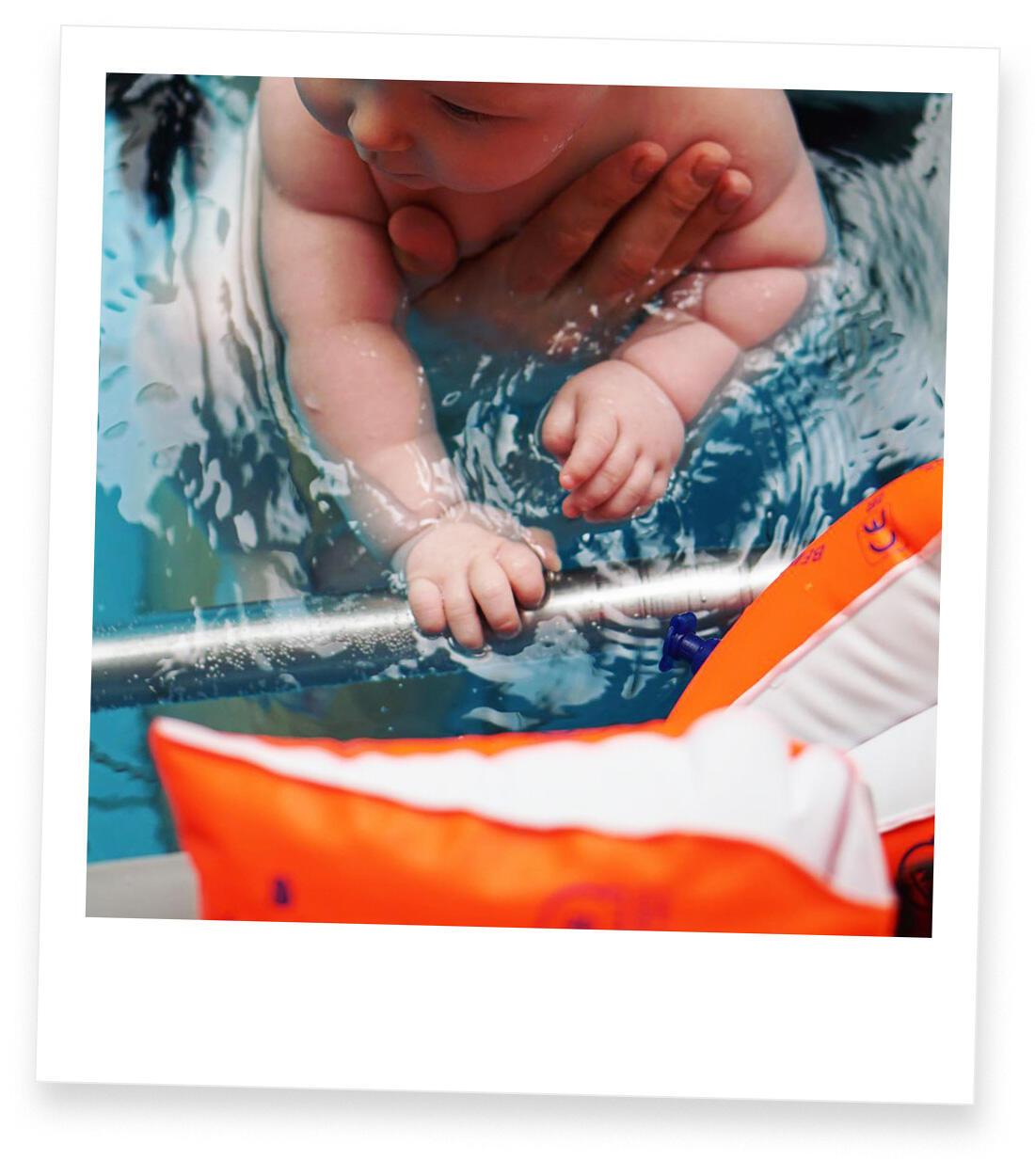 Jahresrückblick 2018 Familie mit Baby Berlin Babyschwimmen