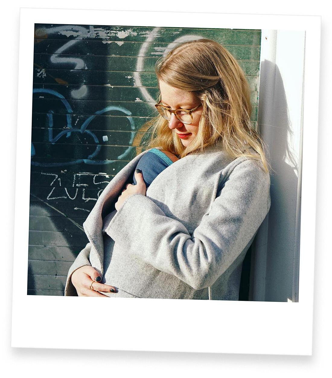 Jahresrückblick 2018 Familie mit Baby Berlin Tragetuch Prenzlauer Berg