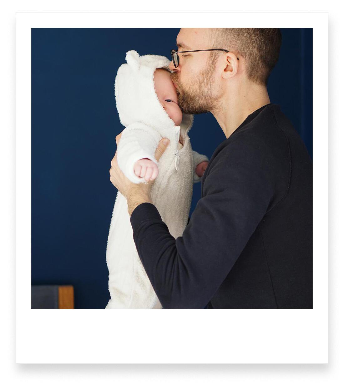 Jahresrückblick 2018 Familie mit Baby Berlin Teddyanzug Winter