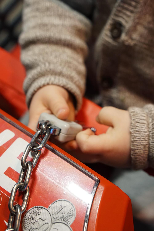 Alltag mit Kind Unser Alltag ist ihre Kindheit Kleinkind Einkaufen Einkaufswagen