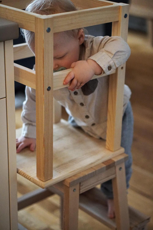 Lernturm Ikea DIY Kleinkind