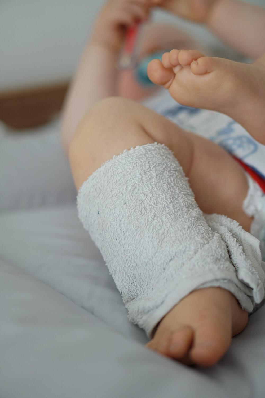 Wadenwickel Fieber Baby Kleinkind Waschlappen
