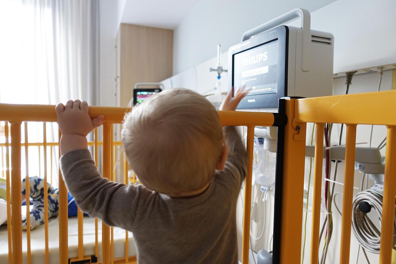 Fieberkrampf Baby Berlin Klinikum Krankenhaus Kinderrettungsstelle Virchow