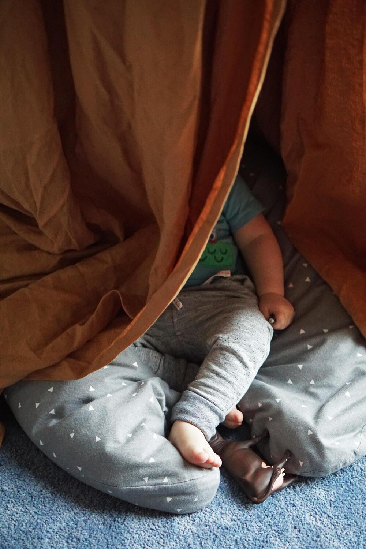 Kinderzimmer Baldachin Höhle Tipi Zelt