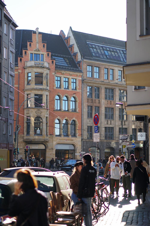 Scheunenviertel Berlin Mitte Frühling Spaziergang