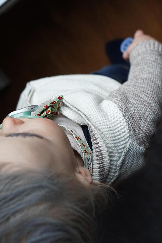 Baby Kleinkind Fasching Kostüm DIY last minute Faschingskostüm Opa Opi