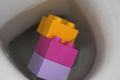 Spielzeug Toilette Lego Duplo