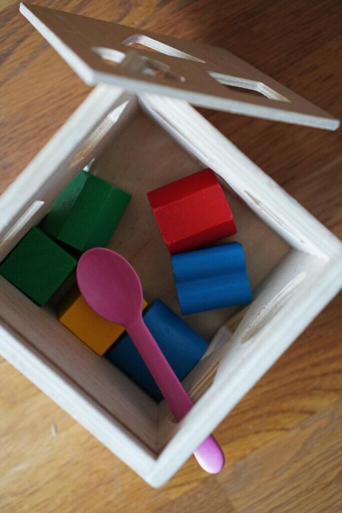 Spielzeug Löffel Holzspielzeug Baby Kleinkind